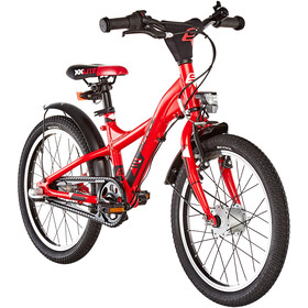 s'cool XXlite street 18 3-S alloy Bambino, red/black matt